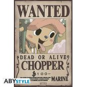Poster - One Piece - Chopper Wanted - 52x35 cm