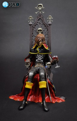 Statuette - Space Pirate Captain Harlock ( Albator ) - 25 cm