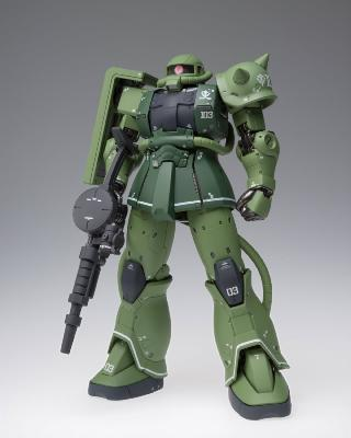 Figurine - Mobile Suit Gundam : The Origin - GFFMC MS-06C Zaku II Type C - 18 cm