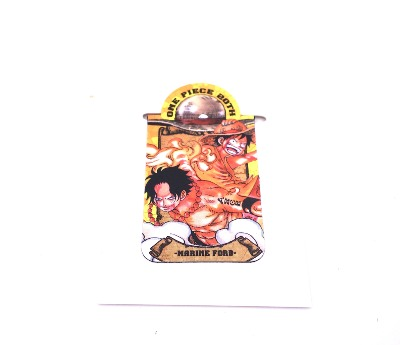 Pince / presse-papier aimantée - One Piece - 20th anniversary - Marine Ford - Ace & Luffy