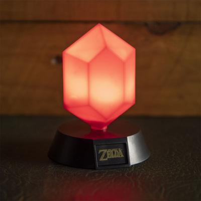 Lampe - The Legend of Zelda veilleuse Red Rupee 10 cm