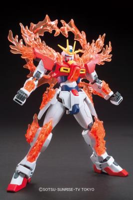 Maquette - GUNDAM - Model Kit - HG 1/144 - Try Burning Gundam - 13CM