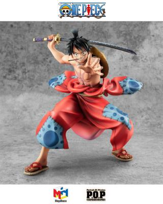 [PRECOMMANDE] Statuette - One Piece - P.O.P. Warriors Alliance - Luffy Taro - 17 cm