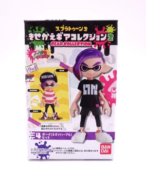 Figurine - Splatoon 2 - Gear Collection - Inkling Boy - Neon Purple