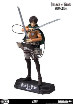 Figurine - Attack on Titan Color Tops Eren Jaeger 18 cm