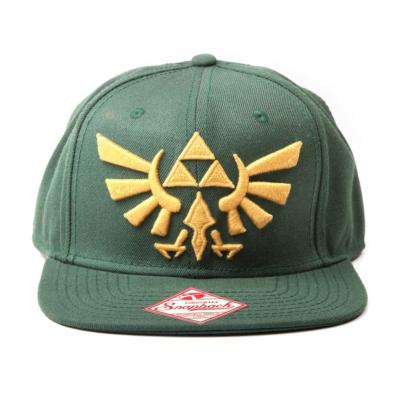 Casquette - Zelda - Green Golden Tri-Force Logo