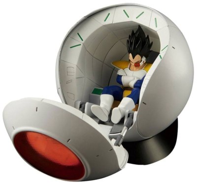 Maquette - Dragon Ball Z - Plastic Model Kit Figure-rise Mechanics Saiyan Space Pod 16 cm
