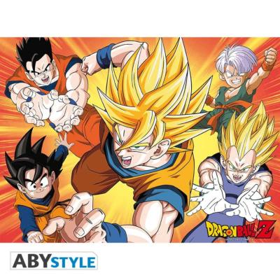 Poster - Dragon Ball Z - Saiyans - 52x38 cm