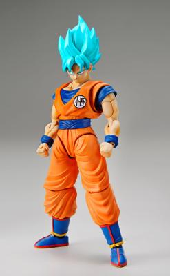 Maquette - Dragon Ball Super - Plastic Model Kit Figure-rise Standard Super Saiyan God Son Goku 18cm