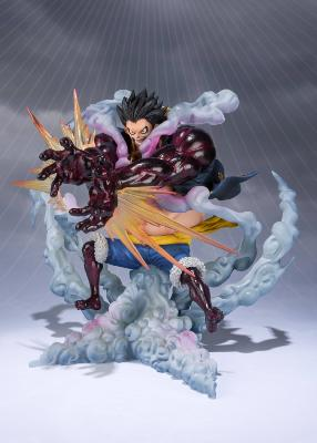 Figurine - One Piece PVC FiguartsZERO Monkey D. Luffy Gear 4 Leo Bazooka - 18 cm