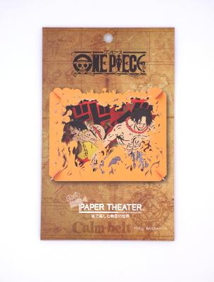 Paper Theater - One Piece - Luffy & Ace