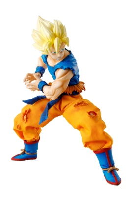 Figurine - Dragon Ball Z - Son Goku Super Saiyan - [Megahouse] - D.O.D - 17 cm