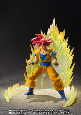 Figurine - Dragon Ball Super - SSG ( Super Saiyan God ) Son Goku - S.H Figuarts - 14 cm