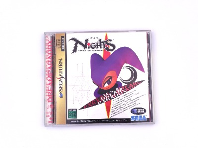 Nights Into Dreams - Saturn - import JAP