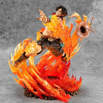 Statuette - One Piece - P.O.P. NEO-Maximum Portgas D. Ace 15th Anniversary Limited Ver 23 cm