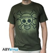 T-Shirt - One Piece - Skull avec carte - Homme