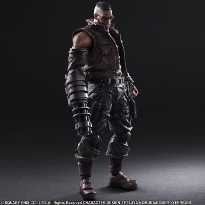 Figurine -  Final Fantasy VII Remake - Barret Wallace - Play Arts Kai