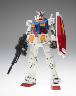 Figurine - Gundam - RX-78-2 - GFF - Metal Composite - 40th Anniversary Limited - 18 cm