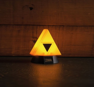 Lampe - The Legend of Zelda veilleuse 3D Triforce 10 cm