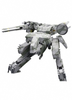 Figurine - Metal Gear Solid - Plastic Model Kit 1/100 - Metal Gear Rex - 22 cm
