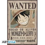Poster - One Piece - Luffy Wanted - 52x35 cm
