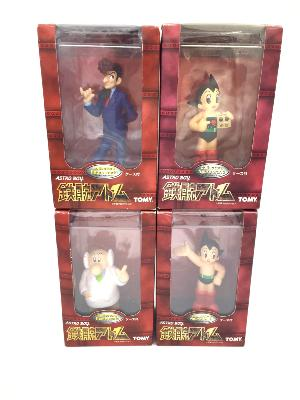 Figurines - Astro Boy - Lot de 4 figurines - TOMY - 16 cm