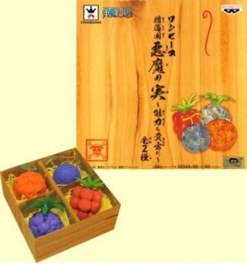 Figurine - One Piece - Fruit du démon - Set A