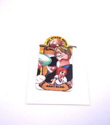 Pince / presse-papier aimantée - One Piece - 20th anniversary - East Blue - Zoro - Sanji - Nami