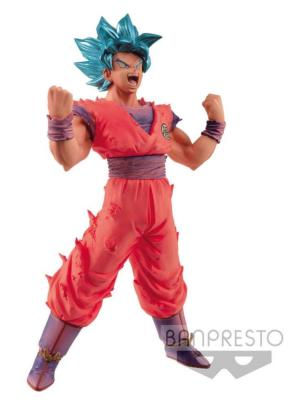 Figurine - Dragon Ball Super - Blood of Saiyans - Super Saiyan Blue Goku 18 cm