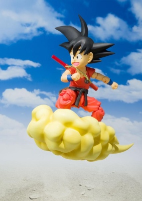 Figurine - Dragon Ball - Son Goku enfant - S.H Figuarts - 11 cm