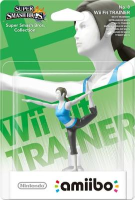 Amiibo - entraineuse Wii Fit - N°8