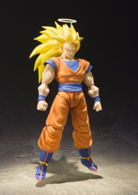 Figurine - Dragon Ball Z - Son Goku Super Saiyan 3 - S.H Figuarts - 16 cm