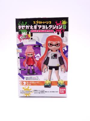 Figurine - Splatoon 2 - Gear Collection - Inkling Girl - Orange