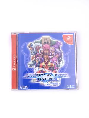 Phantasy Star Online Ver. 2 - Dreamcast - import JAP