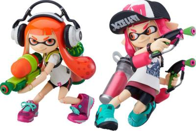 Figurines Splatoon / Splatoon 2 DX - Figma - Splatoon Girl - 10 cm