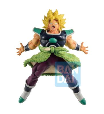 Figurine - Dragon Ball Super - Ichibansho - Super Saiyan Broly Rising Fighters - 24 cm