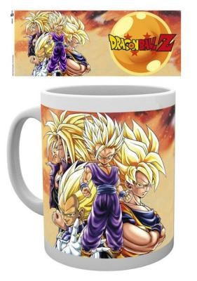 Mug - Dragon Ball Z - Super Saiyans - 300 ml