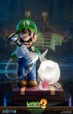 Statuette - Luigi's Mansion 3 - F4F - Luigi & Polterpup - Edition Collector - 25 cm