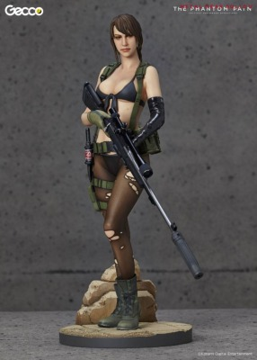 Statuette - Metal Gear Solid V Phantom Pain - Quiet - 30 cm