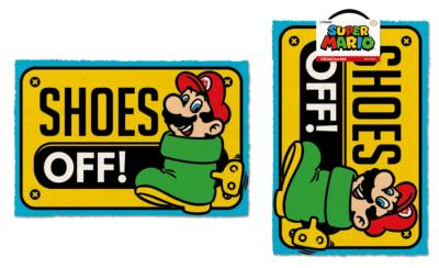 Paillasson - Super Mario - Shoes Off - 40 x 60 cm