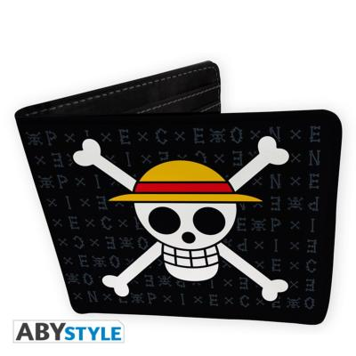 Portefeuille - One Piece - Symbole pirate Luffy - Vinyle