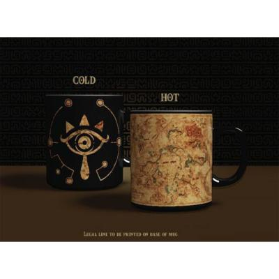 Mug - The Legend of Zelda - Oeil Sheikah - Thermoréactif - 300 ml