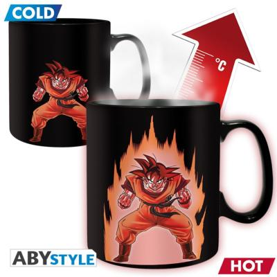 Mug - Dragon Ball Z - Thermeoréactif - Goku - 460 ml