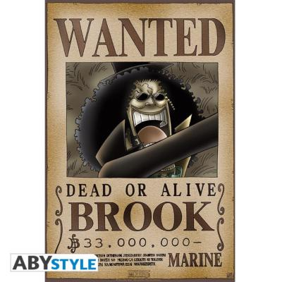 Poster - One Piece - Brook Wanted - 52x35 cm